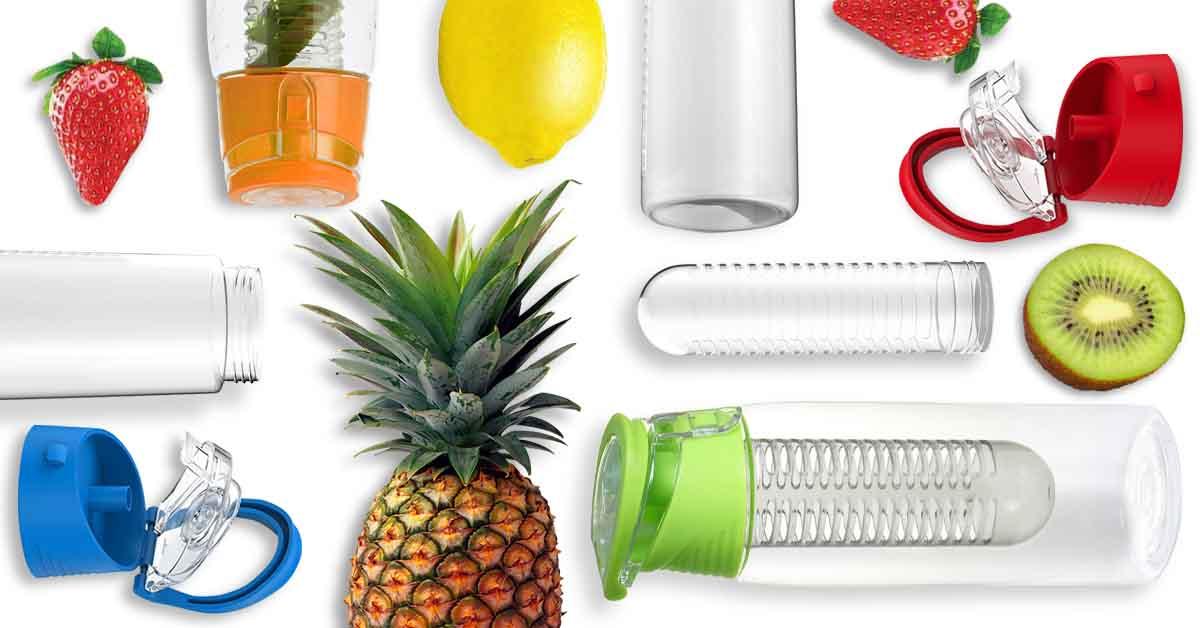 Diffúzoros műanyag kulacs