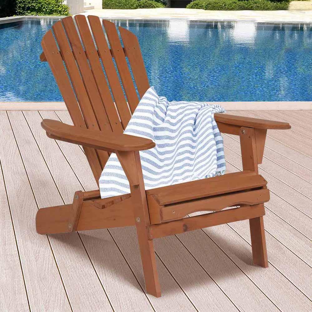 összecsukható kerti szék fából