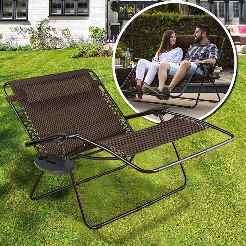 Dönthető kerti szék 2 személynek