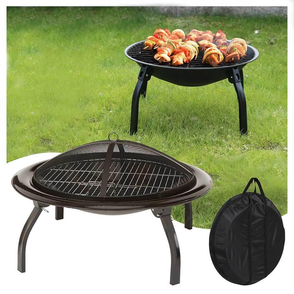 Kerti grill és tűzrakóhely