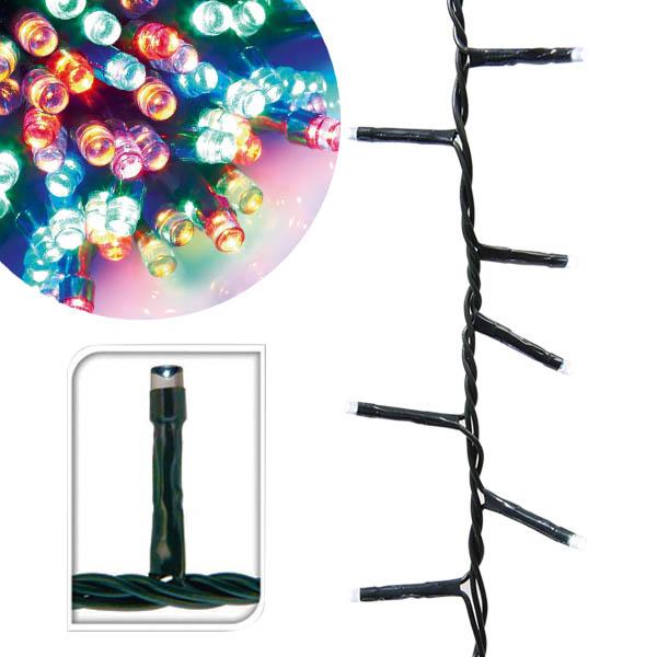 Színes LED fényfüzér több méretben