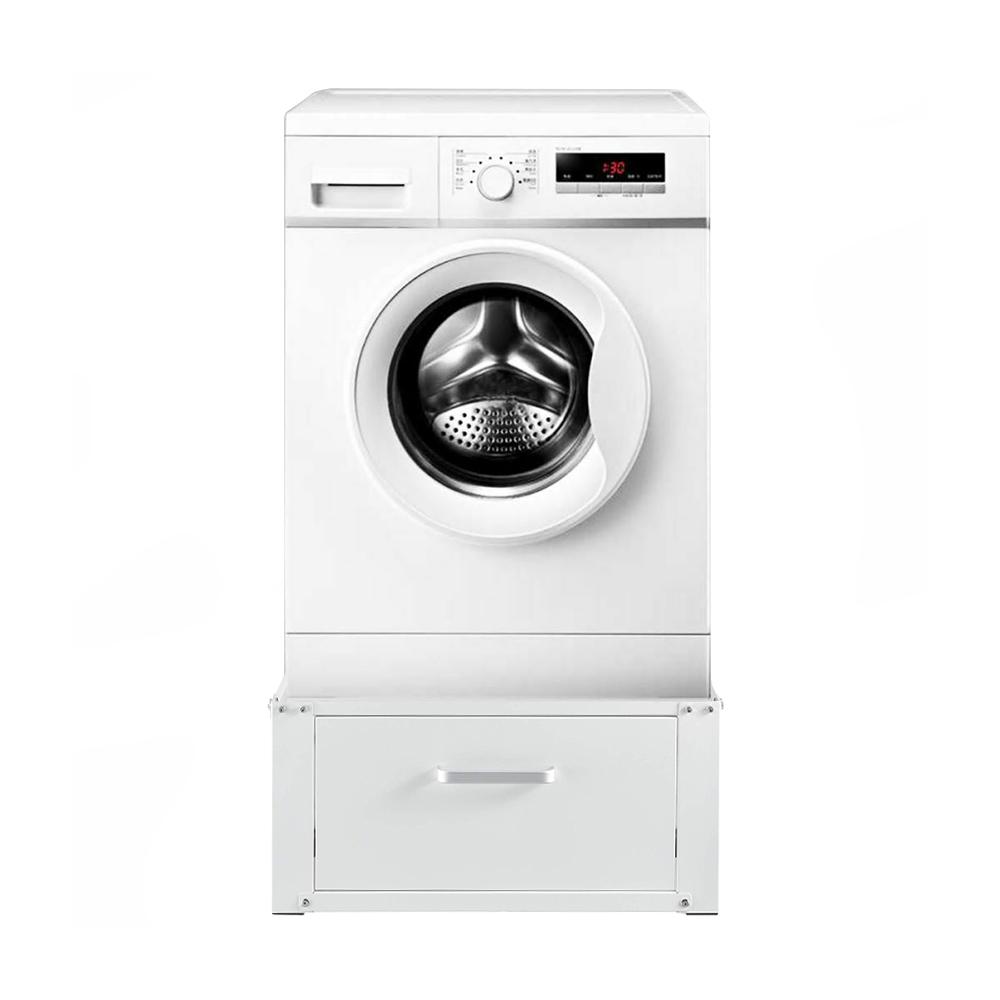 mosógéptartó állvány fiókkal