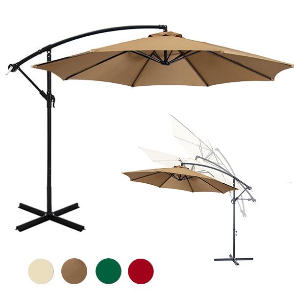 függő napernyő khaki