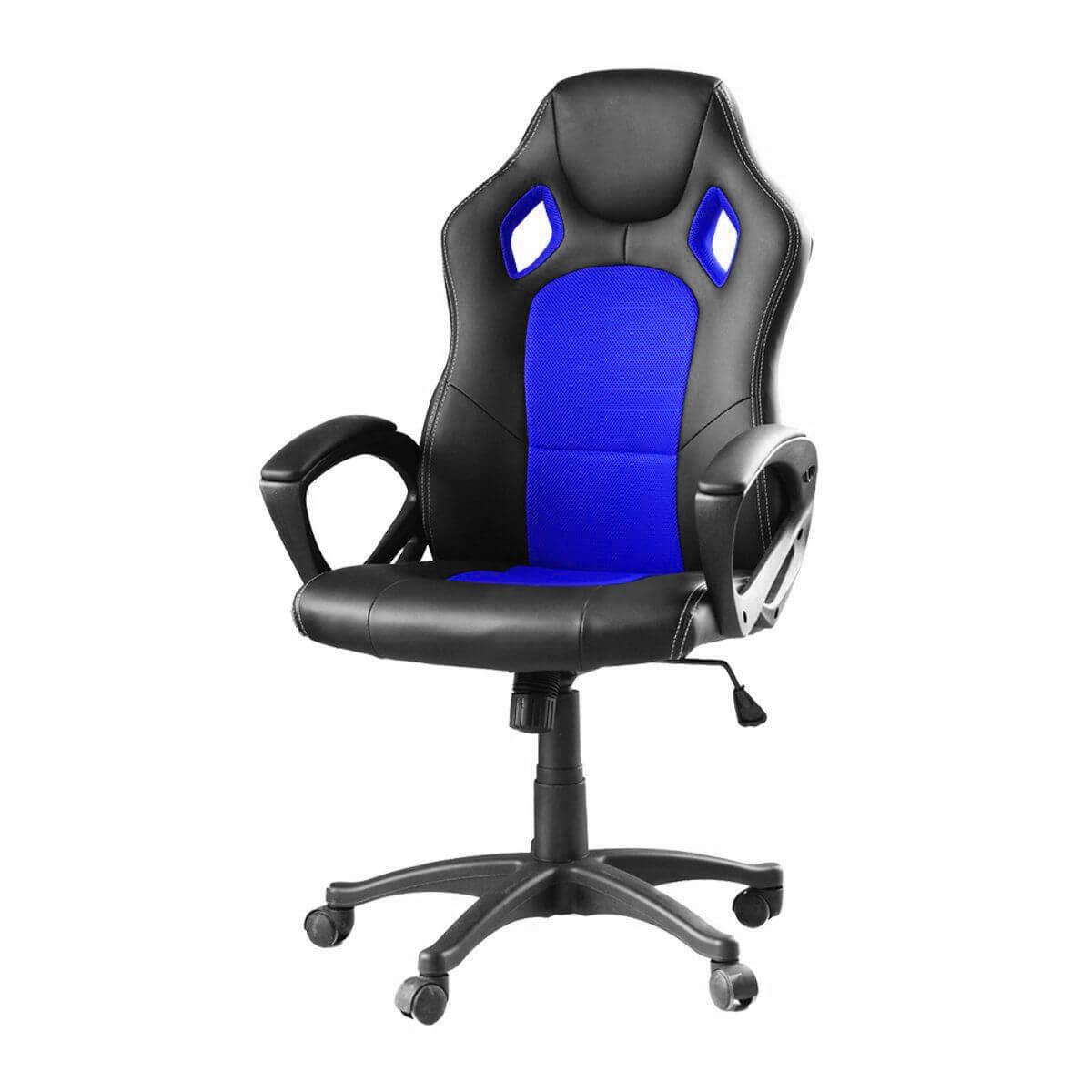 Gamer szék basic kék