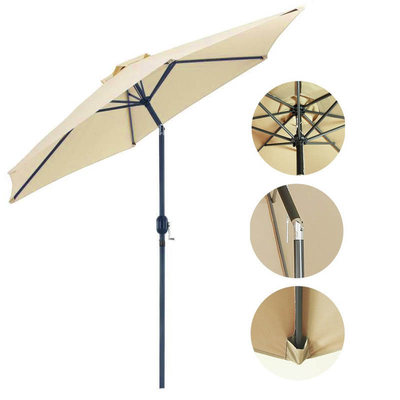 Nagy méretű napernyő 3 méteres átmérővel