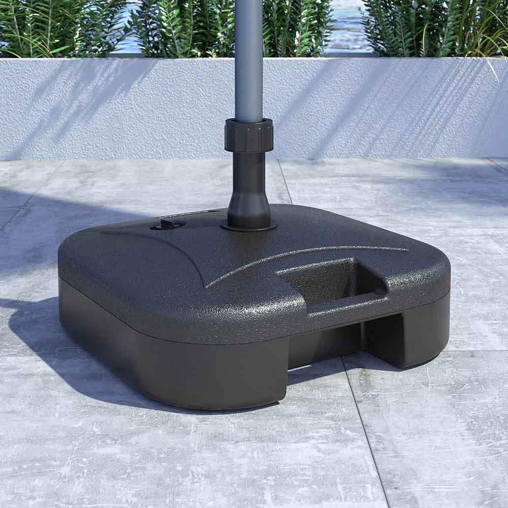 tölthető napernyőtalp