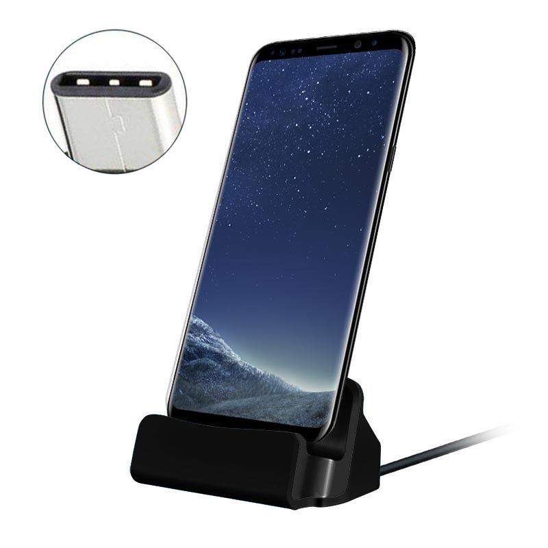 USB C asztali töltő 2 színben