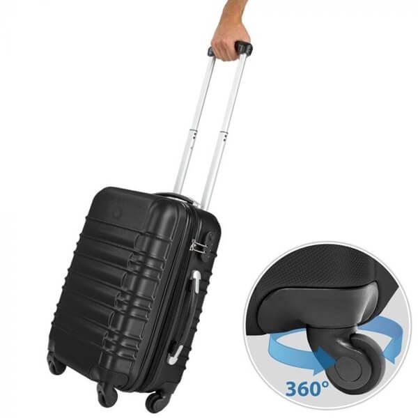 bőrönd szett kerék