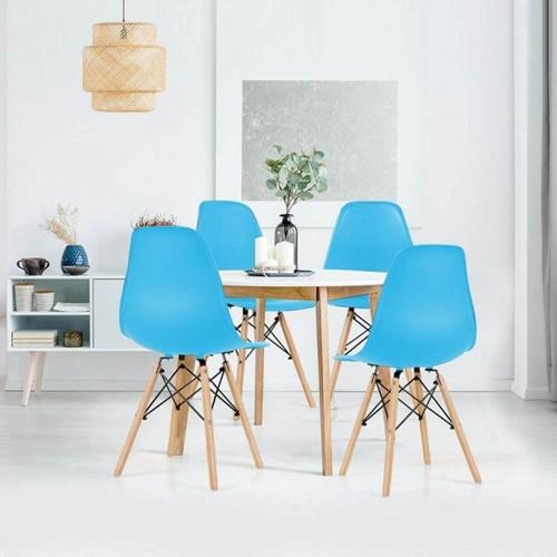 kék étkezőszék